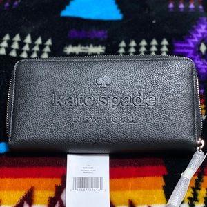 KATE SPADE Larchmont Avenue Logo Neda Wallet